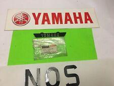 YAMAHA XS400(12E MODEL YICS)FRAME SEAT COVER EMBLEM 12E-21609-00 DISCONTINUED