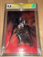 DARK NIGHTS METAL 2 CGC 9.8 WONDER WOMAN VIRGIN SS 4x