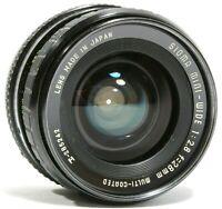 Sigma Mini Wide 28mm f2.8 Wide Angle Prime Lens PK Mount UK Fast Post