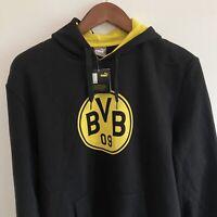 Mens Puma Borussia Dortmund Hoodie Sweater Graphic Logo 3xl XXXL BNWT Brand New