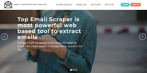 EMAIL SCRAPER & VALIDATION tool for 1 month-email marketing, unlimited leads