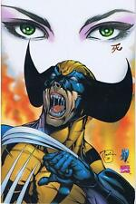 WOLVERINE / SHI Dark Night of Judgement 2000 Virgin Variant Cover **