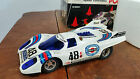 Vintage Sears Martini Racing Team Porsche 917 RC Race Car 70s 80s w/ box cones