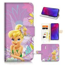 ( For Oppo Reno Z ) Flip Wallet Case Cover PB40414 TinkerBell