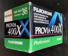 Fujifilm Fujichrome Provia 400X Slide Film 36 EXP Single Roll, Expired ,Unopened