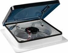 RV Airflow White Ventilator System Fan 3 Speed Fan Quiet Operation Manual Crank
