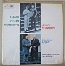 Vintage 33⅓ LP - Elgar Violin Concerto Yehudi Menuhin & A Boult - EMI ASD 2259