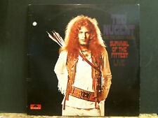 TED NUGENT & THE AMBOY DUKES Survival Of The Fittest  DBL LP  UK 1st press