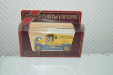 VOITURE FOURGON RENAULT TYPE AG 1910 1/38 MATCHBOX 1984 JAMES NEALES SONS  BOITE