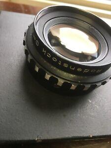 """Rodenstock 150mm F4.5 Omegaron Enlaging Lens In 4x4 Board """"READ!"""""""