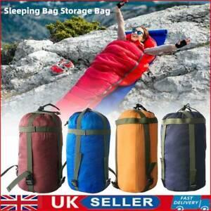 Outdoor Camping Sleeping Bag Compression Stuff Sack Leisure Hammock Storage Pack