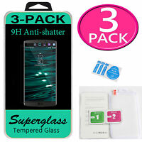 3x Premium Real (Tempered Glass) Screen Protector Guard Shield Film For LG V10