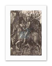 ALBRECHT DURER Chevalier Mort Diable Peinture Vieux maître Toile Art Prints