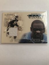 2004 Fleer In Scribed Jevon Kearse '99 ROY Game Worn Jersey Titans /175 Comb S&H