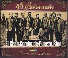Salsa RARE0 2CDs Gran Combo de Puerto Rico 46 ANIVERSARIO falsaria SERRANA swing