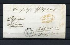 """Württ.  Postablage """"Gmünd-Muthlangen"""" und K2 """"Gmund-4.Jul.1870""""  (#348)"""