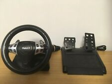 Racing Volante Con Cable Digital R & Pedales Paquete (Sony PS1 & PS2) - D72