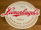 "Leinenkugel BreweryTin Metal Beer Sign 17""x 14"" NEW"