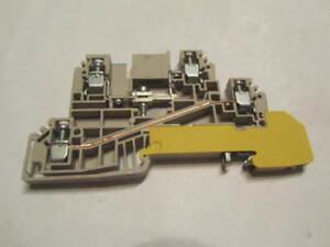 1 x Weidmüller Verteiler- Reihenklemme 1029800000 WDL 2.5/NT/L/PE * OVP * Y-1-2