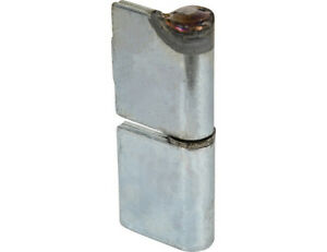 Buyers Products H412550LH Steel Weld-On Butt Hinge w/ 1/2 Stainless Pin - 1.25