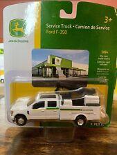 1/64 Ertl John Deere Service Truck Ford F-350 Farm Toy
