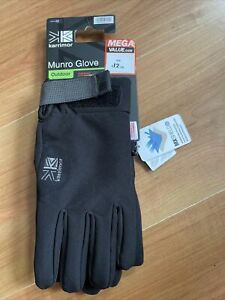 Karrimor Munro Glove Size M BNWT Breathable Wind proof Water Repellent Thermolit