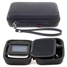 Black Hard Carry Case For TomTom Go Essential 5 Inch Premium Go 51 5'' Sat Nav