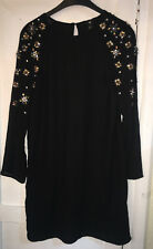 H&M DRESS / TOP / BLOUSE SIZE 6 TEEN 13, 14, 15 XMAS PARTY SPARKLY GLITZY R304