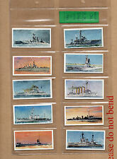 Lyons Tea H.M ships 1902-1962 complete set of 32 in plastic sleeves