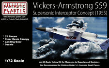 Vickers-Armstrong 559 - British Supersonic Interceptor Concept - 1:72 Resin Kit