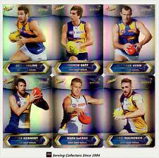 2015 AFL Champions Trading Card Silver Foil Parallel Team Set West Coast (12)