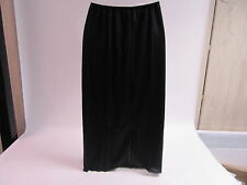 Kayser Lingerie Skirt  Undergarment Black Size 14/16 Length 33 inches #11R174