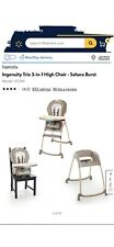 INGENUITY TRIO 3-IN-1 HIGH CHAIR, SAHARA BURST *NEW SEALED IN BOX.**