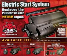 Redcat Racing Electric Starter Kit 2 Back Plates Wand Gun Charger Battery 70111E