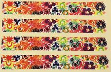 """9 h 22 vinyle HD flèche wraps-m-flowers 1 """"Large 7"""" long (pack 12)"""