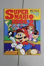 1989 Super Mario Bros. 2 II Inside Out Bonus Nintendo Power Part I Tip Book NES