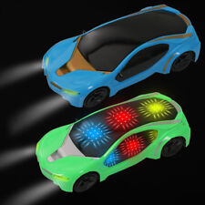 Electronics Car Model Magic Track Toys Flashing Lights for Kids Birthday Gifts