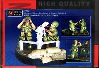 Hobby Fan 1/35 HF-704 US Army 106mm Gun Crew (Vietnam War) - 2 Figures