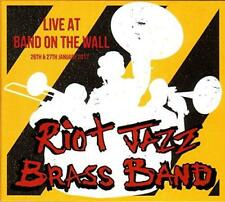 Riot Jazz Brass Band - Live At Band On The Wall (NEW CD)