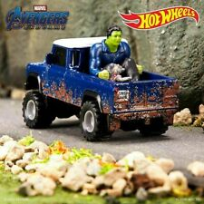SDCC 2020 Mattel Hot Wheels Land Rover With Hulk And Rocket IN HAND