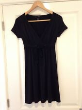 H&M Long Top/ Dress Short Sleeve Size 10 <E22