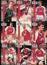 1990-91 PRO SET ENGLAND SOCCER FOOTBALL COMPLETE SET 1-328