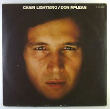 """12"""" LP - Don McLean - Chain Lightning - C1038 - washed & cleaned"""