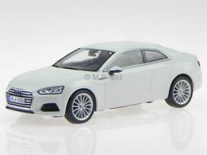 Audi A5 Coupe gletscher bianco modellino 5431 Spark 1:43