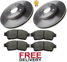 FOR TOYOTA COROLLA 1.3 1.4 1.6 2.0D (1992-2000) FRONT BRAKE DISCS & PADS SET