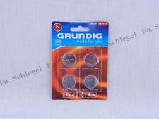 4x CR 2032 20 32 Lithium Batterie Batterien Knopfzellen GRUNDIG NEU 200 mAh