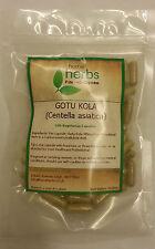 Gotu kola (Centella asiatica) - 100x Pure Herbal Capsules.