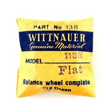 NEW OLD STOCK WITTNAUER 11SR COMPLETE BALANCE WHEEL WATCH PART #13B
