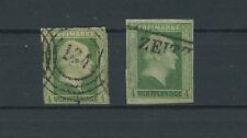 Preussen 1-5 mit 5 a + b gestempelt 1 und 5b = BPP-geprüft (B02137)