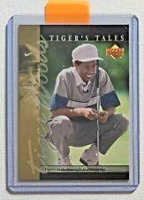 New listing 2001 Upper Deck Golf Tiger Woods Tiger's Tales TT3 Rookie Golf Card